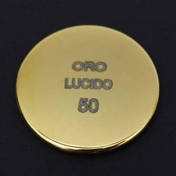 Cabeça de chuveiro quadrada de luxo em aço inoxidável com cromoterapia Made in Italy - Bilbo