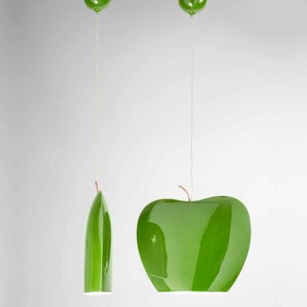 Suspensão em Cerâmica de Apple Shaped Design - Fruits Aldo Bernardi