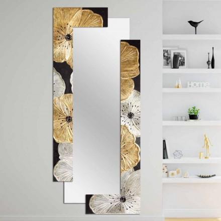 Designer De Parede De Espelho Daiano por Viadurini Decor, made in Italy