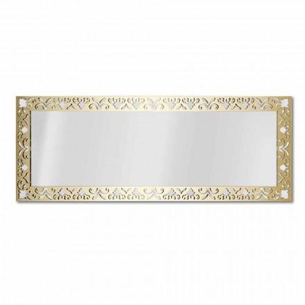Espelho de Parede em Ouro, Prata ou Bronze Plexiglass com Moldura - Néctar