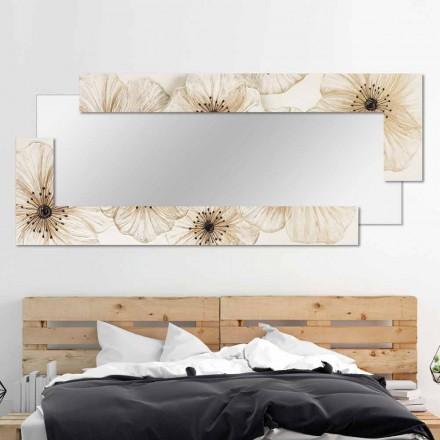 Designer Wall Mirror Sacile por Viadurini Decor, fabricado na Itália