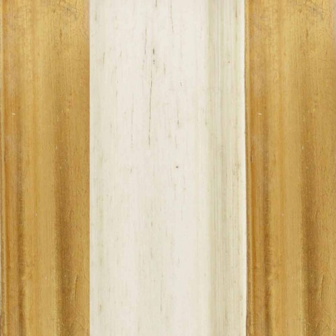 Espelho de assoalho de madeira Ayous com pedestal, produzido na Itália, Jonni
