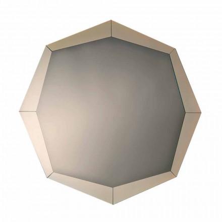 Espelho Design em Acabamento Cristal Espelhado Fabricado na Itália - Bolina