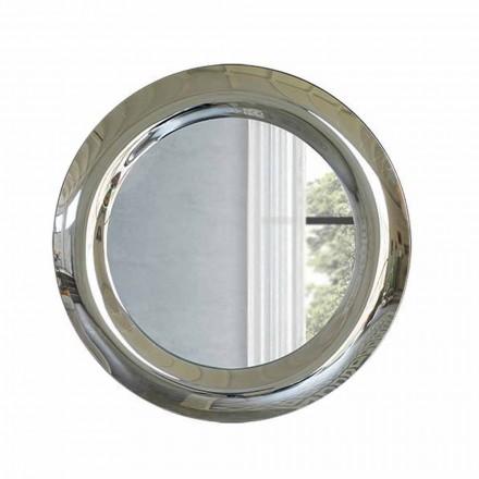 Espelho Grande de Parede com Acabamento Cristal Made in Italy - Stilla