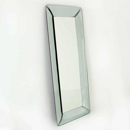 Grande espelho retangular em cristal Made in Italy Design - Twin