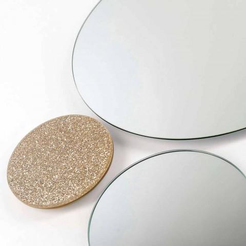 Espelho de parede redondo modeno made in Italy ADDO