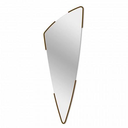 Espelho decorativo de parede design moderno em 4 cores fabricado na Itália - Spino