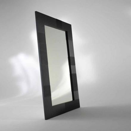 Espelho de pé livre retangular Thalia, design moderno