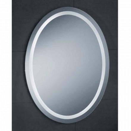 Pura LED espelho do banheiro, design moderno