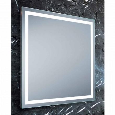 Paco LED espelho do banheiro, design moderno