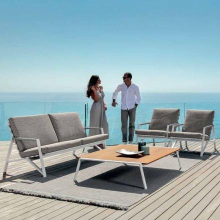 Conjunto de sala de estar ao ar livre Cottage by Talenti, design moderno