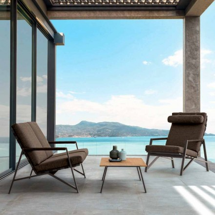 Conjunto de sala de estar ao ar livre Cottage by Talenti, design made in Italy