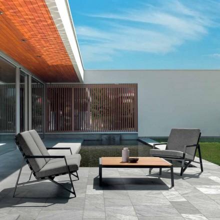 Conjunto de sala de estar ao ar livre Cottage by Talenti, design italiano