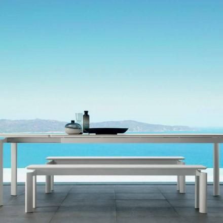 Milo banco ao ar livre por Talenti, design moderno feito na Itália