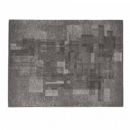 Tapete da sala em algodão com látex antiderrapante Made in Italy - Kaila