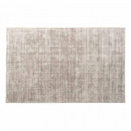 Tapete retangular da sala em viscose, de alta qualidade feito na Itália - Stephan