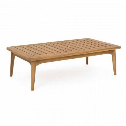 Mesa de exterior para homem, madeira de teca moderna - Luanaedmea