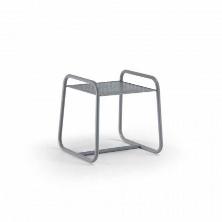 Mesa de centro externa de metal colorido de alta qualidade feita na Itália - Karol