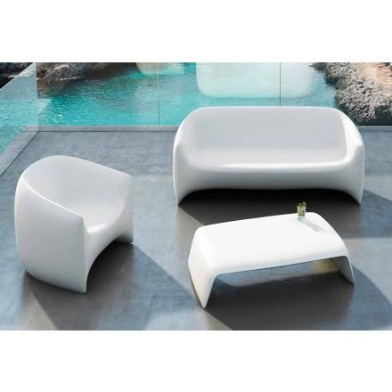 Mesa de centro de jardim feita com polietileno Sopro de espuma, design moderno