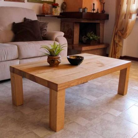 Mesa de centro em madeira de freixo maciça Made in Italy - Nicea