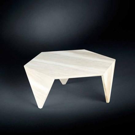 Mesa de centro de mármore Ruche, design moderno