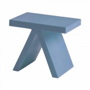 Brinquedo de slide interior colorido geométrico mesa de café feita na Itália