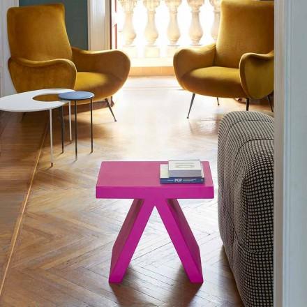 Brinquedo geométrico colorido interior da corrediça da mesa de centro, feito em Itália