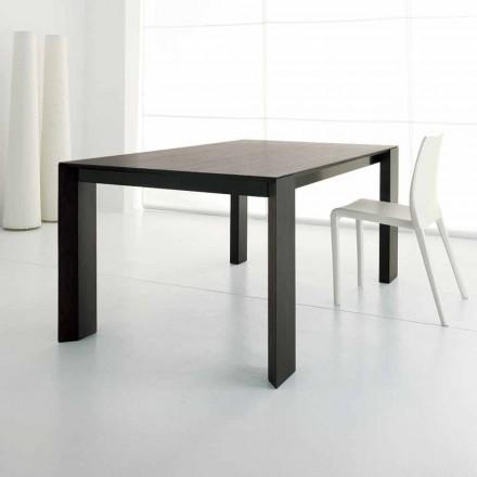 Mesa extensível até 245 cm em Wengè Oak Wood by Design - Ipanemo