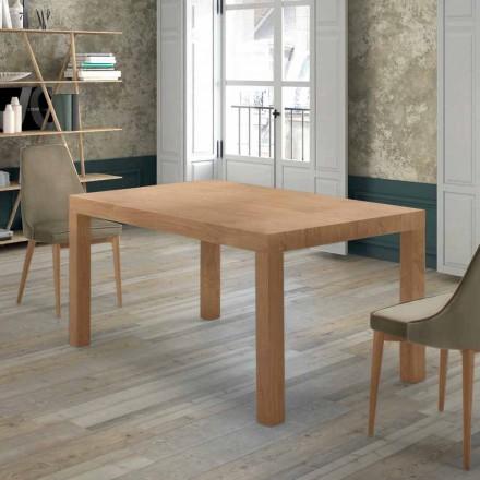 Mesa extensível até 470 cm em madeira Venereed Made in Italy - Gordito