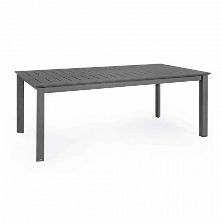 Mesa Extensível para Exterior em Alumínio Design Moderno Homemotion - Casper