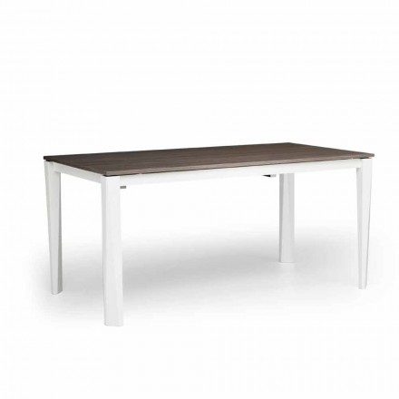 Mesa extensível moderna em cinza branca, produzida na Itália, Medicina