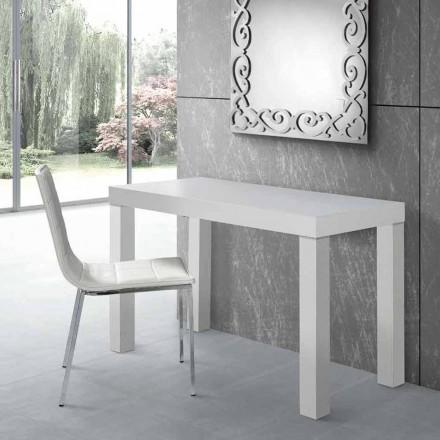 Mesa extensível para console de até 325 cm em laminado Made in Italy - Gordito
