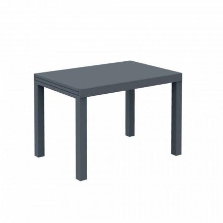 Mesa extensível ao ar livre Até 280 cm em metal Fabricado na Itália - Dego