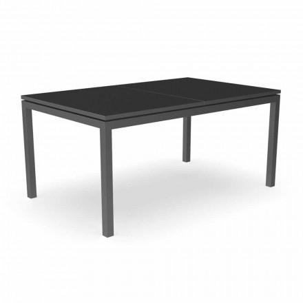 Mesa de jantar extensível para jardim 280 cm em alumínio - Adam by Talenti