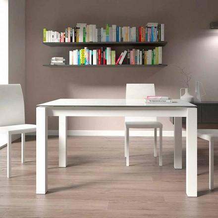 Mesa de jantar extensível até 220 cm Design moderno feito na Itália - Minno
