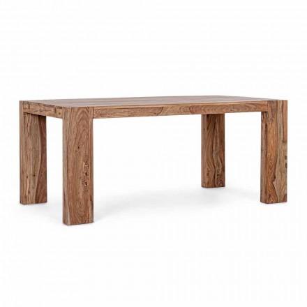 Mesa de Jantar Homemotion Madeira extensível até 265 cm - Bruce