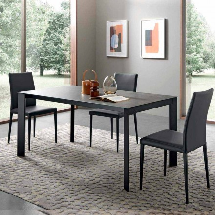 Mesa Extensível de Jantar Até 310 cm em Cerâmica Made in Italy - Pitagora