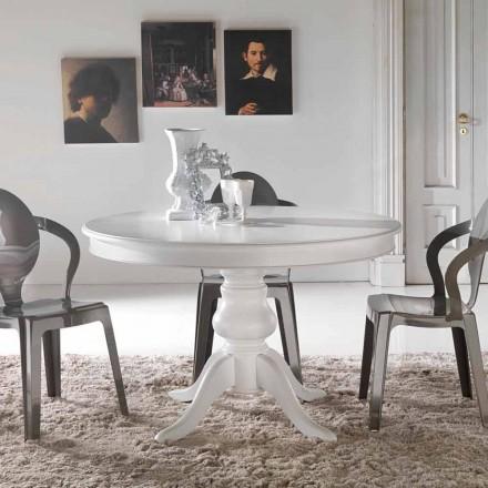 Mesa de jantar redonda de design clássico Oliva