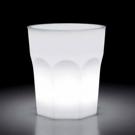Mesa Outdoor Design Luminous em Polietileno e Hpl Fabricado na Itália - Pucca