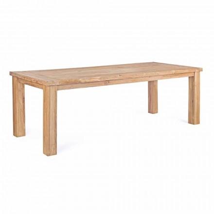 Mesa de jardim em madeira de teca design, 8 lugares Homemotion - Hunter