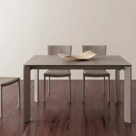 Mesa extensível de vidro-cerâmica Terni até 240 cm