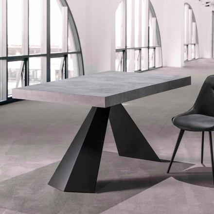 Mesa Sala de Jantar com Tampo Extensível Até 290 cm em Madeira - Doriano