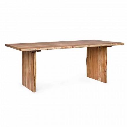 Homemotion Moderna mesa de jantar em madeira de acácia - Pinco