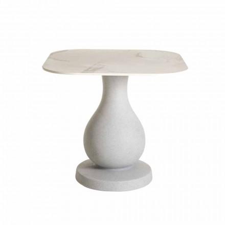 Mesa quadrada de jantar, superfície em HPL - Ottocento