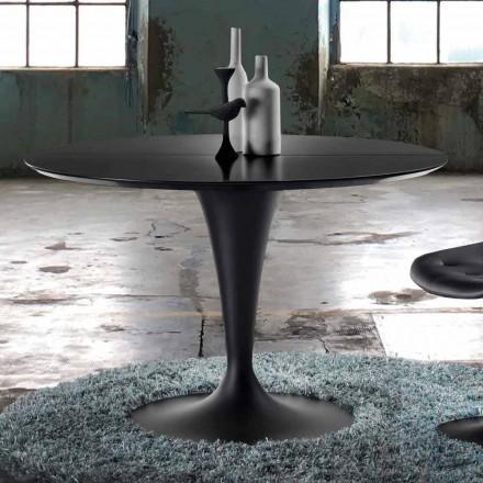 Mesa extensível redonda de design moderno - Borgia