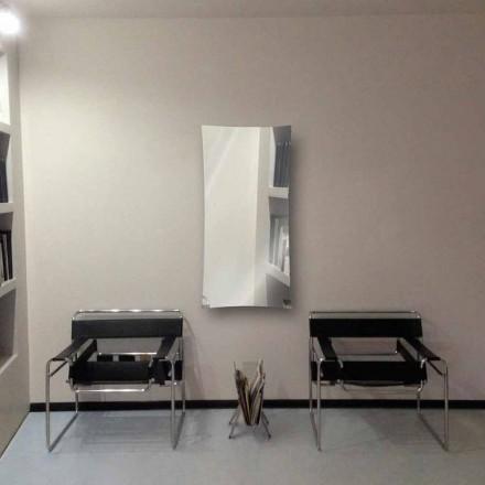 Radiador de espelho de água quente de design moderno feito de vidro Barry, até 709W