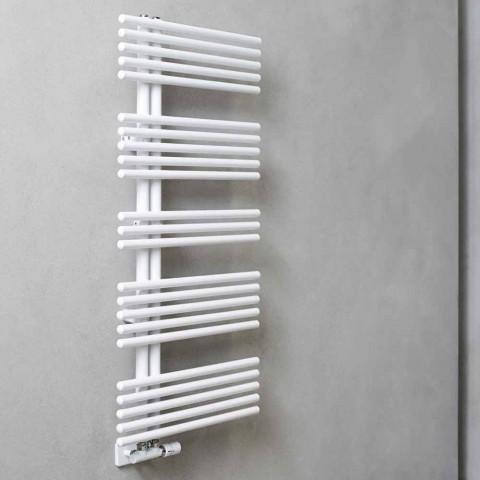 Aquecedor de toalhas de design moderno montado na parede até 690 W - Peacock