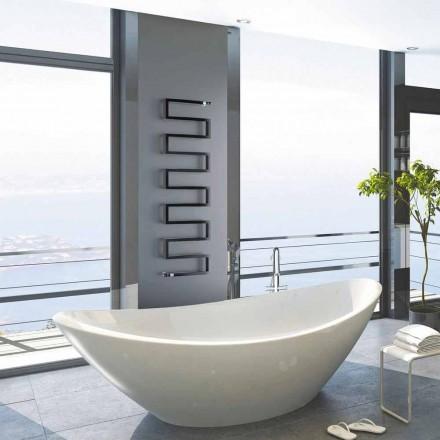 Radiador de água quente vertical Snake by Scirocco H, design moderno