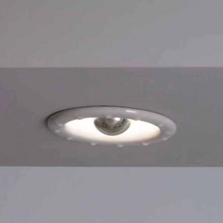 Toscot Battersea luz embutida Ø14cm feita na Toscana