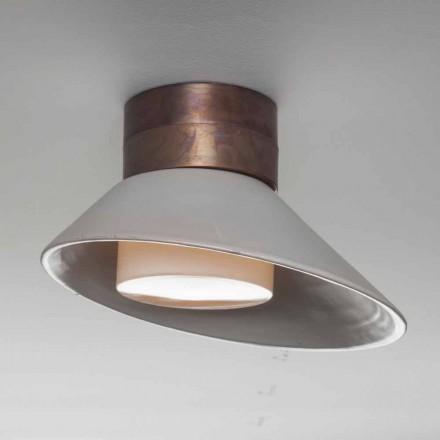Toscot Chapeau! Lâmpada de parede / teto feita na Toscana